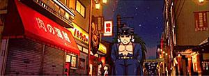 商店街 夜