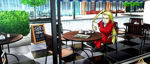 ヘイ鏡 昼ステージ カフェ